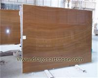 Imperial yellow onyx wood grain marble big slab