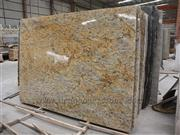 Golden Crystal Granite Slab