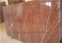 China Red Alicante Marble Rossa Slab