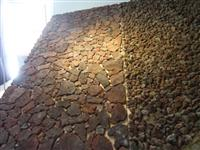lava random pebble flooring tiles
