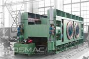 Roll press for coal crushing