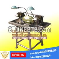 Dual end gem machine agate equipment