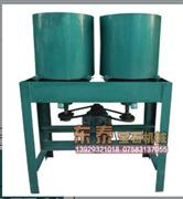 Double barrel chamfering machine