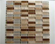 Mix Color Glass Stone Mosaic Tile