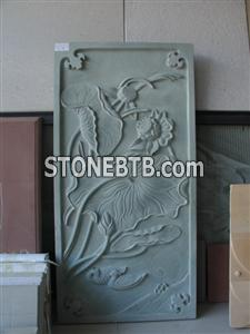 Green Sandstone Embossment