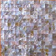 Natural Seamless White Backsplash Shell Tiles Mother Of Pearl Mosaic