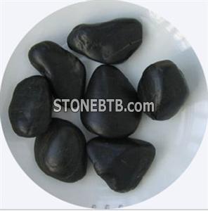 Black pebble/river stone