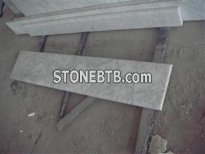 White Marble Stone Stairs