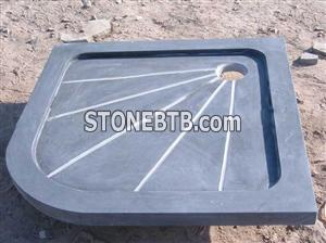 Qingdao Honed Blue Stone Shower Tray