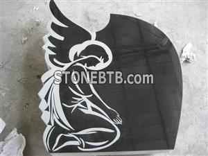 Granite Tombstones Absolute Black Granite Headstone