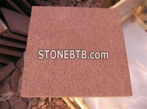 Red Sandstone Tile Bushhammered,Sandstone Brick