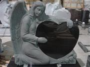 Granite Angel Tombstone,Angel Headstone