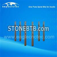 Acrylic Cutting Single Flute Router Bit