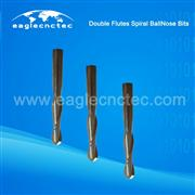 Upcut Spiral Ball Nose Double Flutes Router Bit