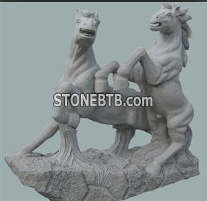 G614 Granite Animal Sculpture