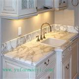 Kitchen countertop, Calacatta Oro Marble