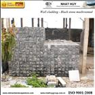 Wall Cladding Black mushroomed