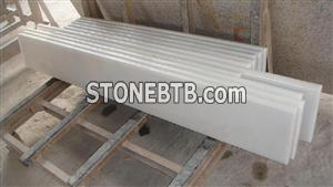 Straight Marble Stone Steps