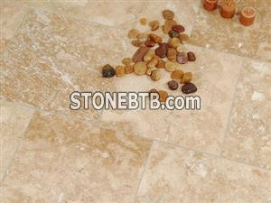 Classic Mixed Honed - Filled Travertine Tiles