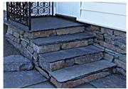 Slate Steps and Wall Tops