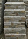 rough surface stacked slate culture stone tiles