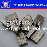 Multi Tool Baldes Segment For Granite Cutting