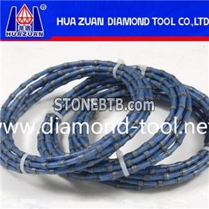 Diamond Wire Saw For Marble Block Squaring
