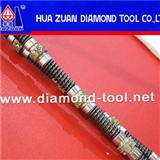 Electroplated Diamond Wire Saw For Marble Quarrying And Concrete Cutting