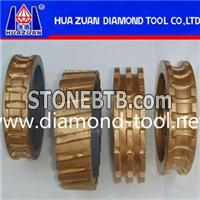 Sinter Diamond Profile Wheel For Granite Edge Polishing