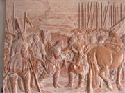 Natural Stone Embossment Etching Carving