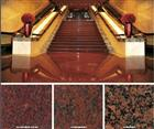Red Granite Stairs