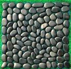 Black Polished Pebble Stone Tile