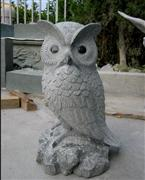 Padang Dark Owl Sculpture