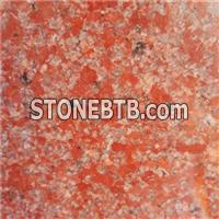 Molticolor Red Polished Granite Long Strips & Tile