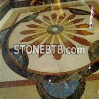Marble Inlay Medallions