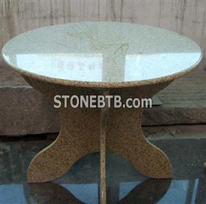 Graden Table (Round Table, Granite Table)