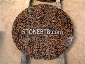 Baltic Brown Table (Round Table, Granite Table)