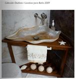 Mexican White Onyx Wash Basins