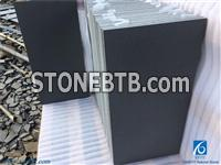 Hainan Black Basalt Tiles&Slabs / Honed Dark Bluestone / China Black Basalt for Walling ,Flooring,Interior&Exterior Decoration