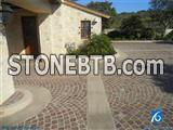 Red Prophyry Granite Paver Stone,G666 Granite Cube Stone