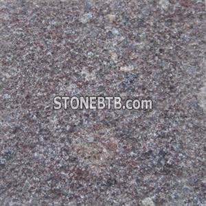 Red Porphyry Bushhammered