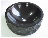 Absolute Black Granite Basin