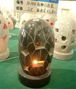 Shanxi Black Granite Lanterns