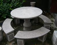 Natural Granite Table & Chair