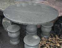 g654 granite table and bench