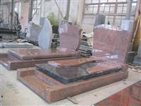 red granite european design monument
