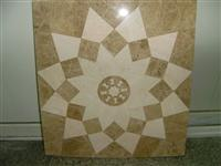 light emperador mosaic waterjet medallion