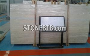 Italy Blue Travertine Slab