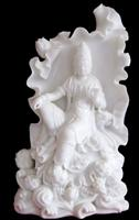 Hand Crafted Marble Buddha Statue