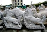 Padang Grey Animal Sculpture